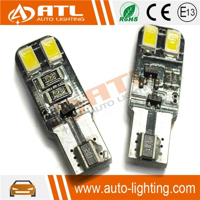 Universal non-polarity auto led 12v, led bulb t10 car, canbus car led bulb