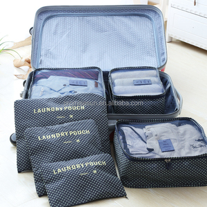 Waterproof travel clothes collection package storage bags with zipper