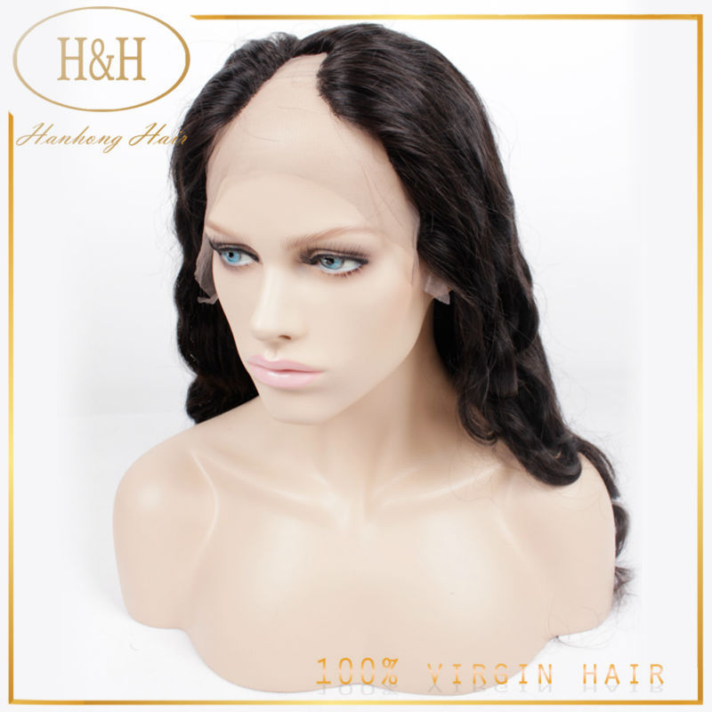 Wholesale hightest cheap peruvian hair body wave <strong>u</strong> part human hair wigs for black women