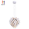 Brand New Contemporary White Outside Aluminum Pendant Lamp With High Quality