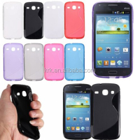 TPU Gel S line Skin Back Cover Case For Samsung Galaxy Core I8260 I8262 Case