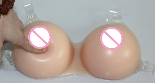 Factory Direct Selling Silicone Breast Forms OEM Available Big Boobs for Cross Dresser to Easy Wear with Straps