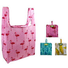 Promotional Reusable Durable Waterproof Nylon Foldable Shopping Bag