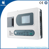 BT-ECG30A 3 Channel Interpretive Electrocardiograph portable digital ecg machine