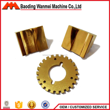 Customized CNC brass hardware product