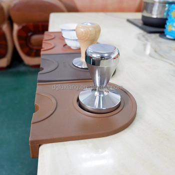 2018 Year Factory Price Food Grade Silicone Coffee Tamper Mat