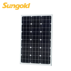 High Efficiency Photovoltaic mono solar panel 50W