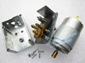JGY385 Full 100% Metal Gear Motor High Torque Worm Reducer Motor 12-24V 6W in Stock