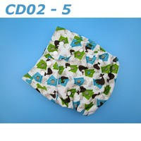 High Quality Competitive Price Washable Printed Cartoon Cloth Diaper Baby Diaper Wholesale