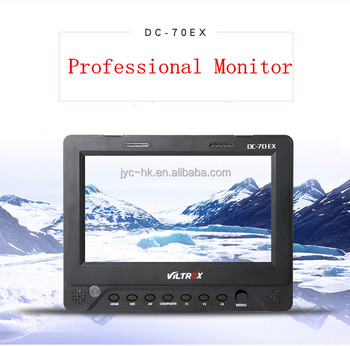 "Viltrox Professional 7"" TFT Filed LCD Monitor DC-70EX 4K Signal with SDI Port hood for Broadcast Camera Equipment"