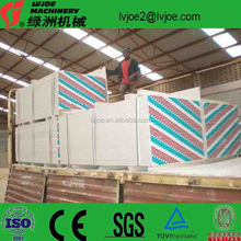 gypsum board plant drywall production line for Africa