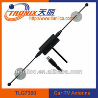 TV male connetor car antenna with vhf radio TLG7300