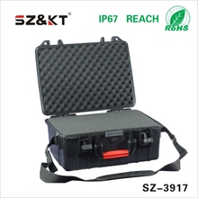 pad lockable plastic instrument carrying case