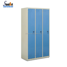 South africa type steel locker wardrobe scrapbook storage cabinets