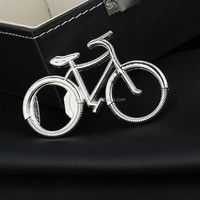 100pcs Bicycle Metal Bottle Opener Can opener with Keyring Keychain Promotional Gift DHL Freeshipping
