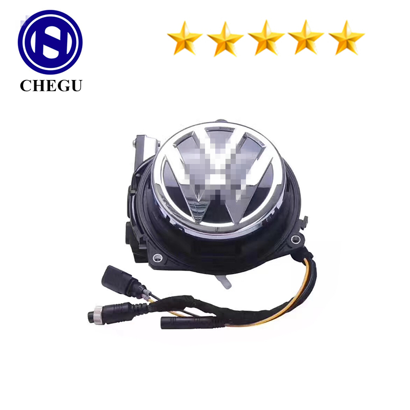 170 degrees rear view camera vw logo flip reversing camera automatic golf 6 7 <strong>R</strong> B8 GIT Polo B6 B7