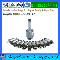 J43 Type Safty Quick change Drilling and Tapping Multiple Chuck