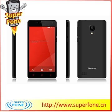 M5 5.0inch 3G quad core smartphone bulk china mobile phone