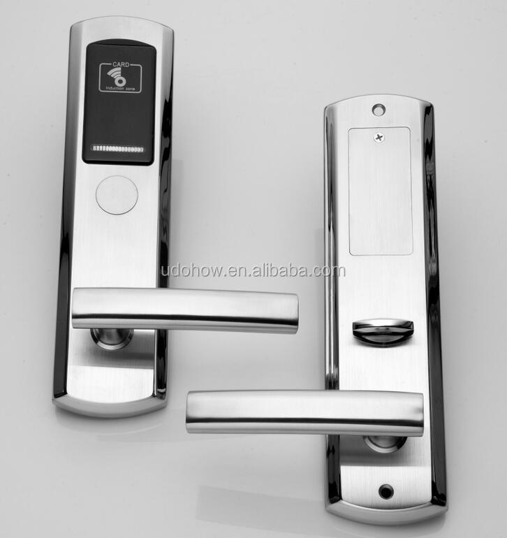 2017 New arrival top quality hotel RFID lock with free software DH-8181J