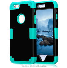 For iPhone 5 5s SE Shockproof Protect Hybrid Hard Rubber Impact Armor Phone Cases Wholesale Phone Case supplier