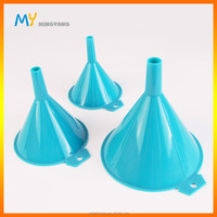 new design 3-piece PP plastic funnel set food grade kitchen funnel