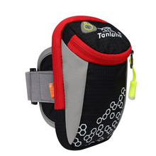 Outdoor sport products portable arm bag mobile phone accessories