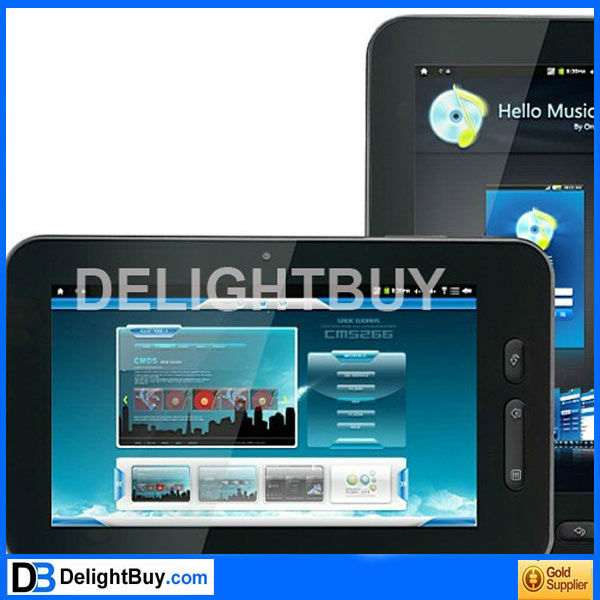HKC M701 Tablet 7 inch Andriod 2.3 Allwinner A10 1.5Ghz WiFi/OTG/3G/G-Sensor 512M/8GB Capacitive Screen Tablet PC
