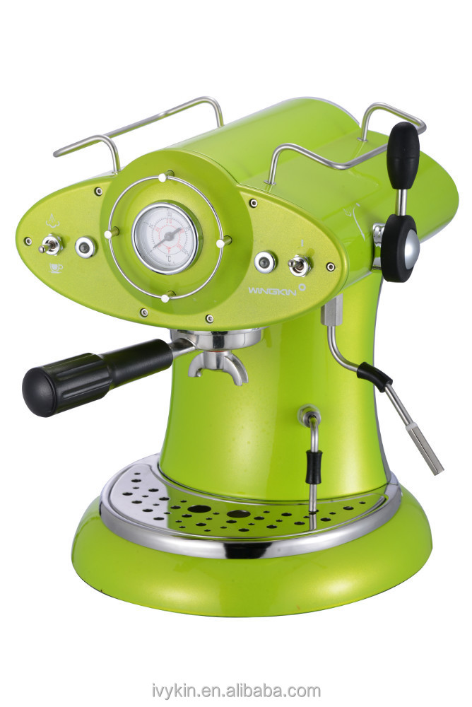 ariete marque conception caf233 r233tro rouge espresso et