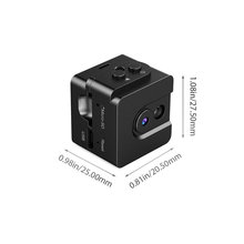 Orginal vision 720P smallest mini finger camera nightvision sound actived detector portable video camera