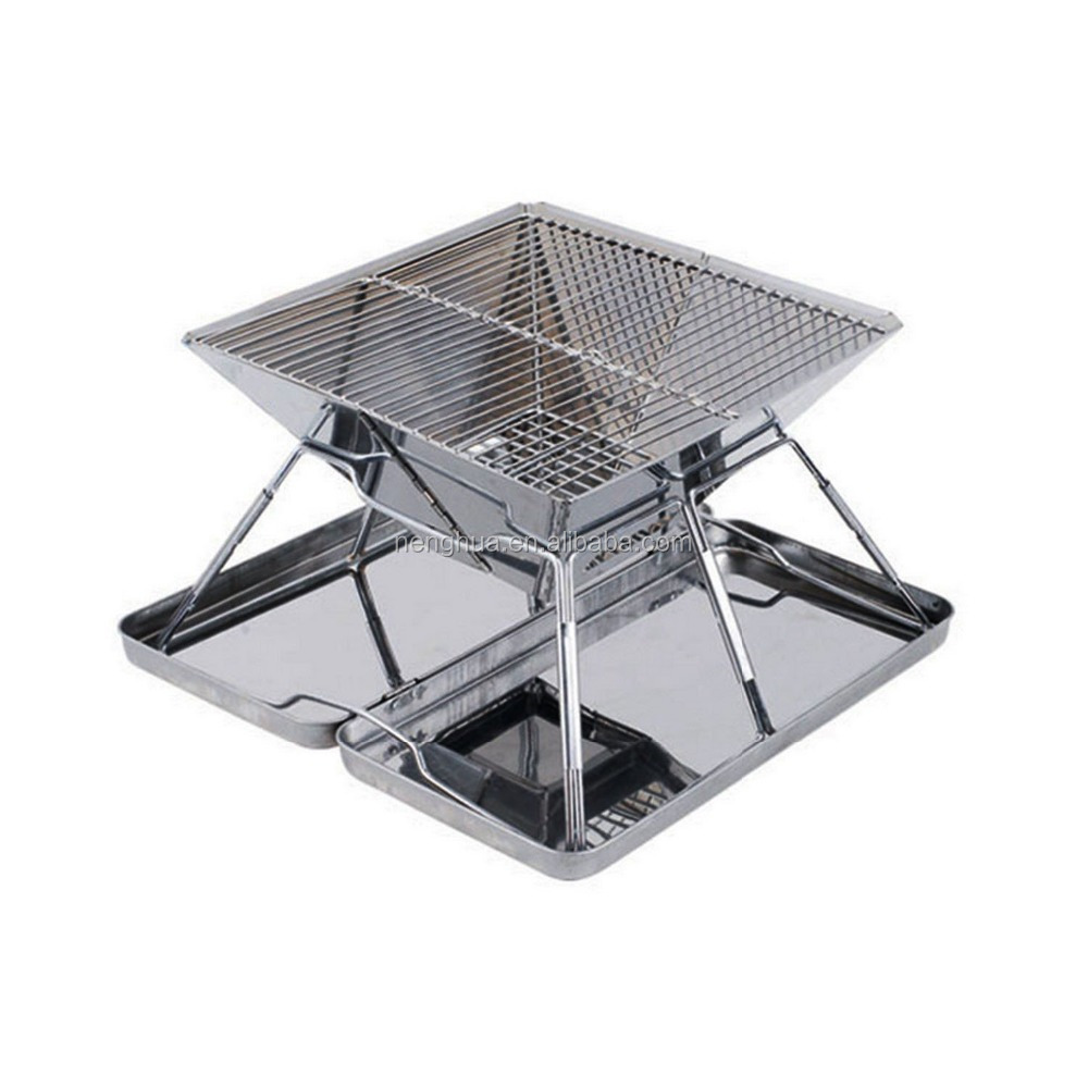 Stainless Steel Easily Assembled Outdoor BBQ Grill