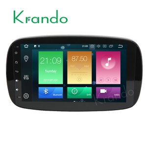 Krando Android 8.0 9'' 32GB ROM car multimedia navigation for benz smart fortwo 2016+ car radio dvd player wifi with bt KD-MS957