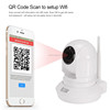 Home Security hidden wifi ip camera with Cell Phone Remote Monitoring
