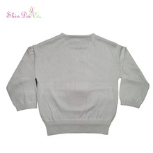 Best selling new design girl pullover sweater with sequin embroidery