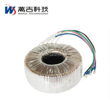 24v 220v AC DC electronic power single phase toroidal transformer