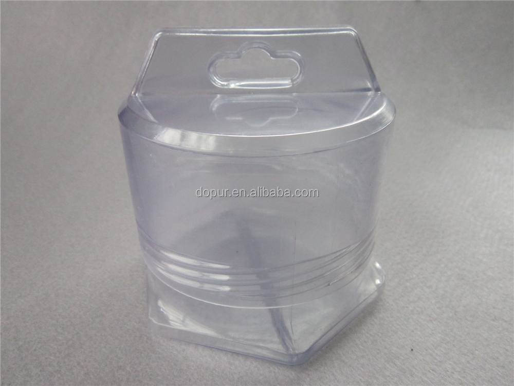 PVC Material rectangular tube sizes clear plastic cylinder box packing