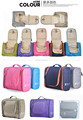 Popular Convenient Travel Hanging 3 Fold Multifunction Canvas Toiletry Bag Toiletry Kit