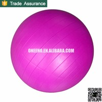 45cm, 55cm, 65cm, 75cm, 85cm, 95cm PVC yoga ball with pump