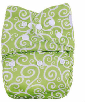 Hot sale Baby Charcoal Bamboo dipaper Cloth Diaper