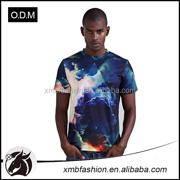 Hot Sale New Model O-Neck Collar Plus Size Printed 3D T - Shirt for Man