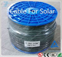 PV1-F Solar Panel Cable 2.5/4.0/6.0mm2 dual-core pv cable 2.5mm2 flexible solar panels for boats