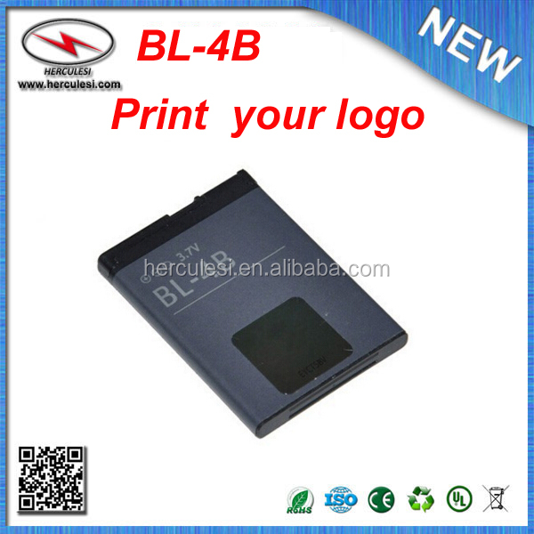 Oem Standard Cell Phone Battery Bl-4b For Nokia 7500 7070 5000 N76