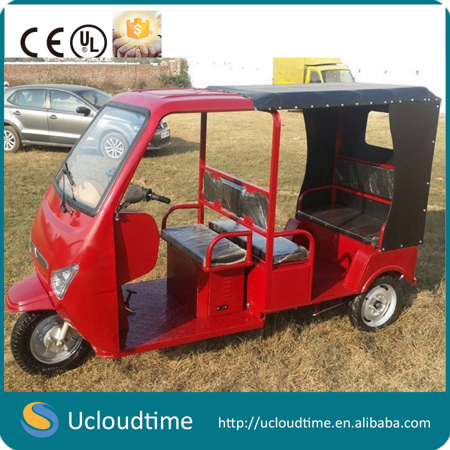 passenger electric three wheel tuk tuk auto rickshaw tricycle
