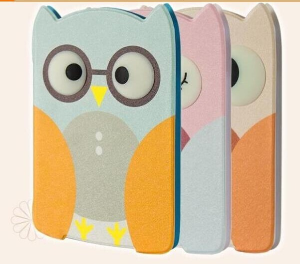 Owl Pattern Cute Flip Leather Case Smart Cover for iPad Air 2 with Stand