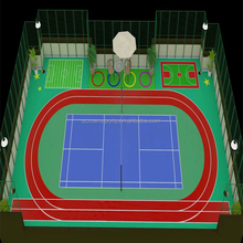 School & Stadium outdoor sport polyurethane athletic rubber running track surface