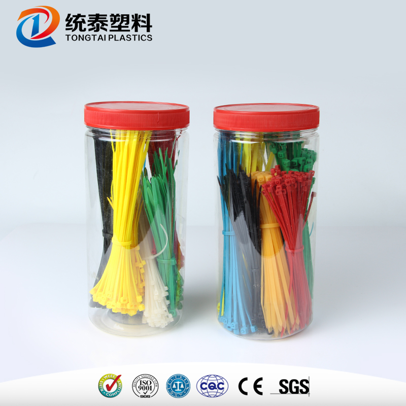 Xiufeng SGS TUV CE certificated taiwan nylon 66 cable ties natural colore with low price