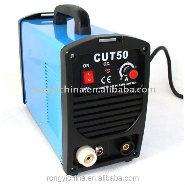 Shanghai Rongyi Mosfet Inverter DC HF Start ARC 220V 50Amp Air Portable Plasma Cutter CUT50