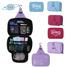 Hanging cosmetic bag waterproof toiletry travel organizer makeup