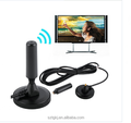 High Flat HD Digital Indoor Amplified DVB-T2 Antenna 50 miles range