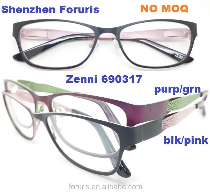 Men Metal Rectangle shape clear lens strong Eyeglasses Lixin Glasses