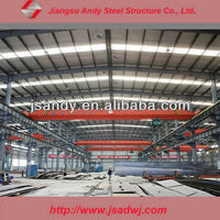 prefab steel structure factory shed